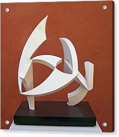 The Taming Of Pegasus  Acrylic Print by John Neumann