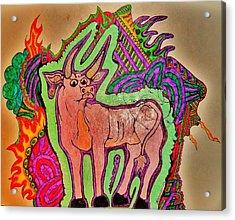 The Taurus Acrylic Print by Ragdoll Washburn