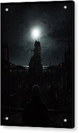 The Tenebrous Sprawl Acrylic Print by Martin Bland