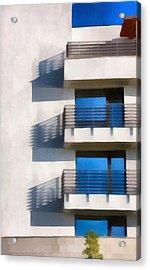 The Terraces Acrylic Print by Odon Czintos