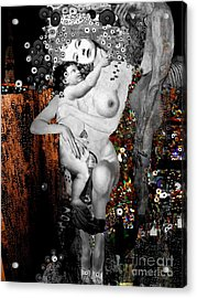 The Three Ages Of Woman Acrylic Print