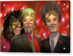 Acrylic Print featuring the photograph The Three Masketeers by Richard Piper