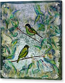 The Time Of Singing Birds Acrylic Print