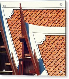 The Time To Repair The Roof Is When The Acrylic Print