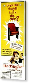 The Tingler, Vincent Price, Patricia Acrylic Print by Everett