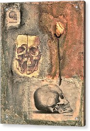 The Tomb Acrylic Print by Catherine Conroy