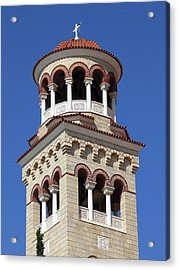 The Tower Of Saint Nectarios Acrylic Print