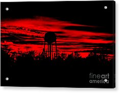 Acrylic Print featuring the photograph The Tower by Tamera James