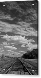 The Tracks Acrylic Print by Ellery Russell