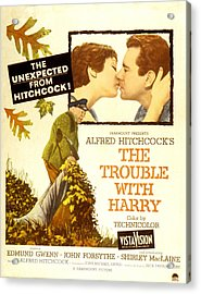 The Trouble With Harry, Shirley Acrylic Print
