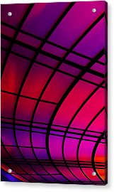 The Tunnel Acrylic Print by Metro DC Photography