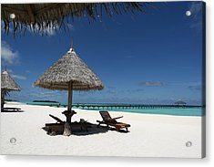 The Ultimate Relaxation Acrylic Print by Andrei Fried