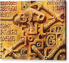 The Unanswered Enigma Acrylic Print by Baron Dixon