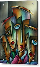 The Union Acrylic Print by Michael Lang