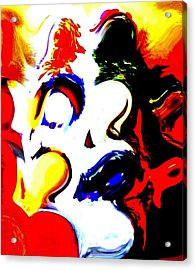 The Unmasking Of Youth Acrylic Print by Jackie Bodnar