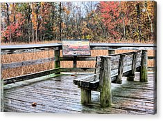 The User's Guide Acrylic Print by JC Findley