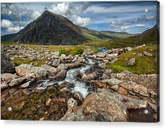 The Valley Acrylic Print by Adrian Evans
