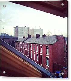 The View From My #house #roof Acrylic Print