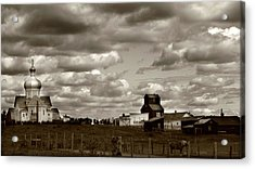 The Village Acrylic Print by Jerry Cordeiro
