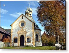 The Virgin Mary Church In Austria  Acrylic Print