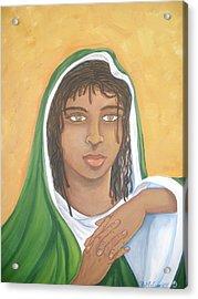 The Virgin Mary Acrylic Print by Mccormick  Arts