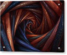 The Vortex Acrylic Print by Manny Lorenzo