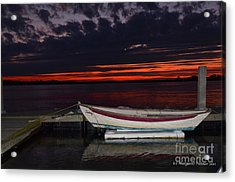 Acrylic Print featuring the photograph The Wait by Margaret Palmer