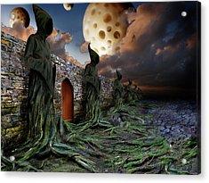 Acrylic Print featuring the photograph The Wall by Mariusz Zawadzki