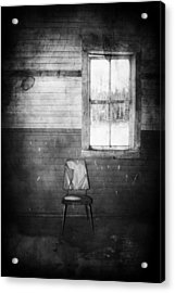 The Wallflowers Seat  Acrylic Print by Jerry Cordeiro