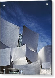 The Walt Disney Concert Hall, By Frank Acrylic Print by Everett