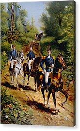 The War Of 1812, U.s. General Staff Acrylic Print by Everett