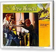 The Wasp Woman, From Left Anthony Acrylic Print by Everett