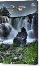 The Watchman Acrylic Print by Bob Christopher