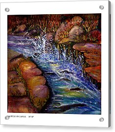 The Water Danc Acrylic Print
