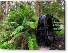 The Water Wheel Acrylic Print