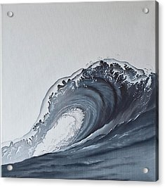 The Wave Acrylic Print by Jan Farthing