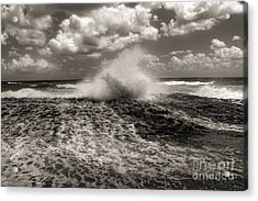 The Wave Acrylic Print by Jeff Breiman