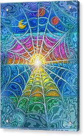 The Web Of Wyrd Acrylic Print by Diana Haronis