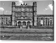 The West Virginia State Penitentiary Front Acrylic Print by Dan Friend