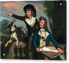 The Western Brothers Acrylic Print by John Singleton Copley