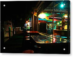 The Wet Bar Acrylic Print by Jose Rodriguez