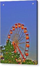 The Wheel Acrylic Print by Barry R Jones Jr