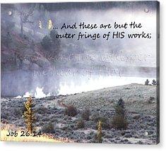The Whisper Of God Acrylic Print by Robin Hall