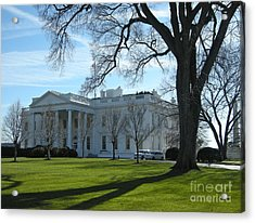 Acrylic Print featuring the photograph The White House by Victoria Lakes