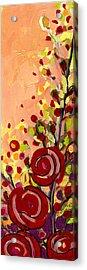 The Wild Roses Acrylic Print by Jennifer Lommers