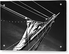 Acrylic Print featuring the photograph The Wind Not Caught by Ryan Weddle