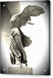 The Winged Victory - Paris Louvre Acrylic Print