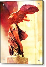 The Winged Victory  Acrylic Print by Marianna Mills