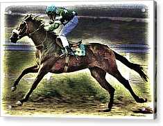 The Winner Acrylic Print