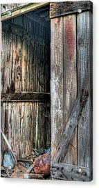 The Wood Shed Acrylic Print by JC Findley